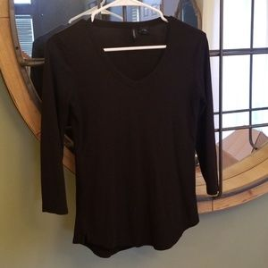 Black 3/4 sleeve